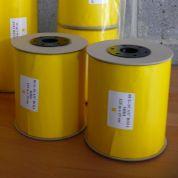 Bande adhésive jaune  │ Bug scan roll │ 15 cm x 125 m