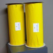 Bande adhésive jaune │ Bug scan roll │ 30 cm x 100 m