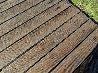 houten plankenvloer detail